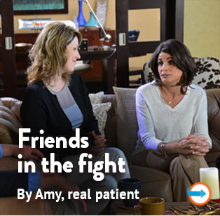 Friends in the fight against relapsing MS